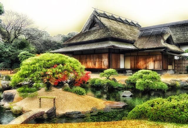 Japonia (Templu Okayama)- tara unde Gemenii pot sa activeze sfera financiara si cea a afirmarii sociale