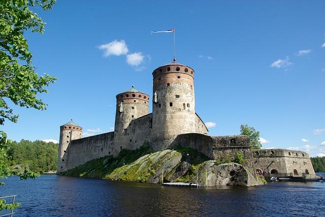 Finlanda. Castelul Savonlinna