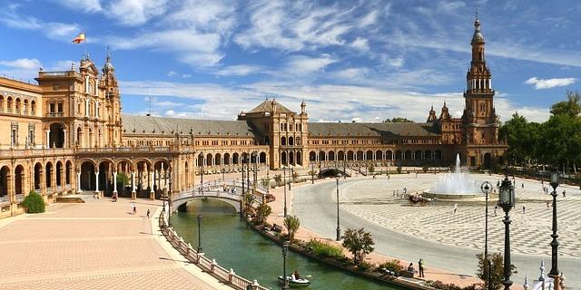 Sevilla. Piata Spaniei