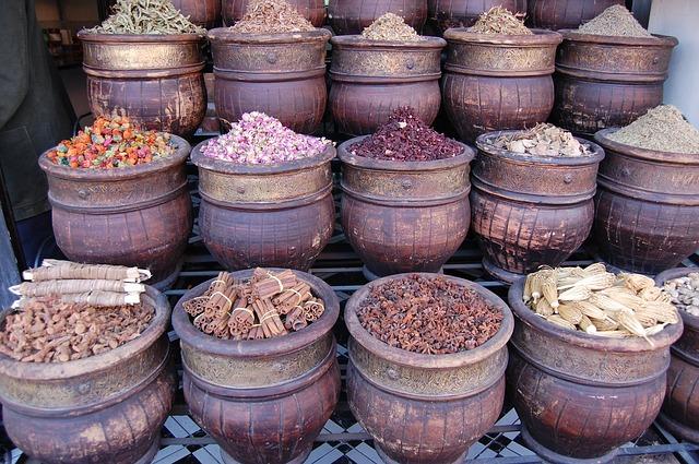 Aromele Marocului