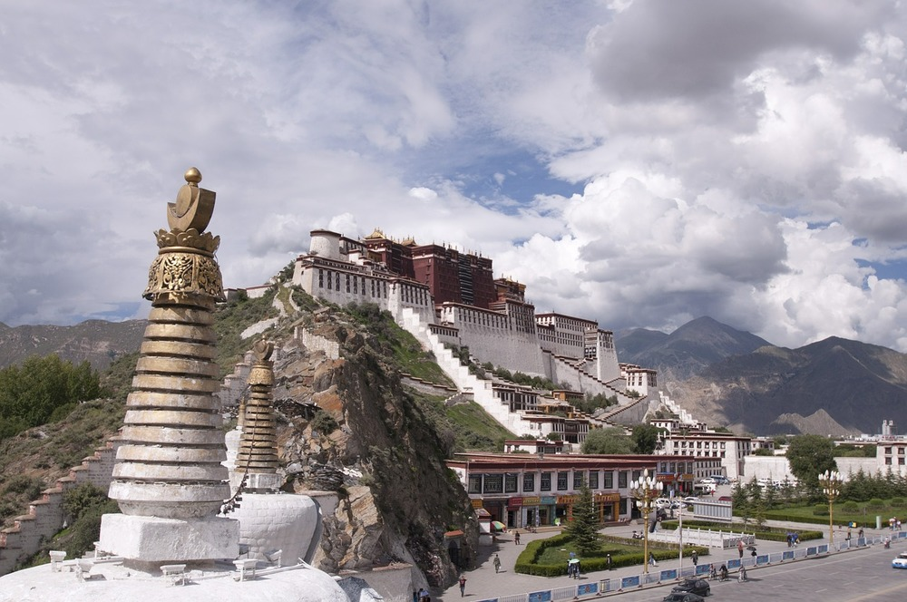 Tibet. Palatul Potala (Lhasa)