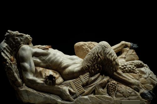 Zeul Pan - sculptura de Francesco da Sangallo (1535)