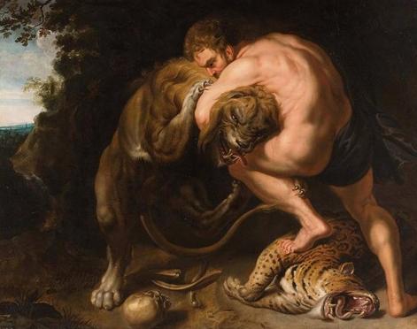 Leul din Nemeea de Rubens