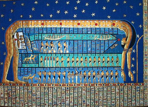 Nuit - Zeita Raiului si Cerului in Egiptul Antic