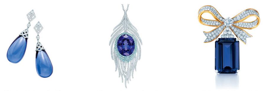 Bijuterii cu tanzanit, Casa Tiffany & Co