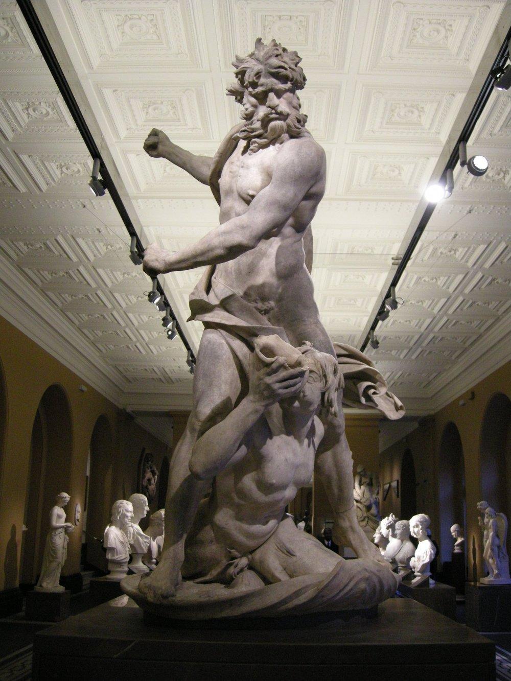 Poseidon si Triton - scupltura de Bernini