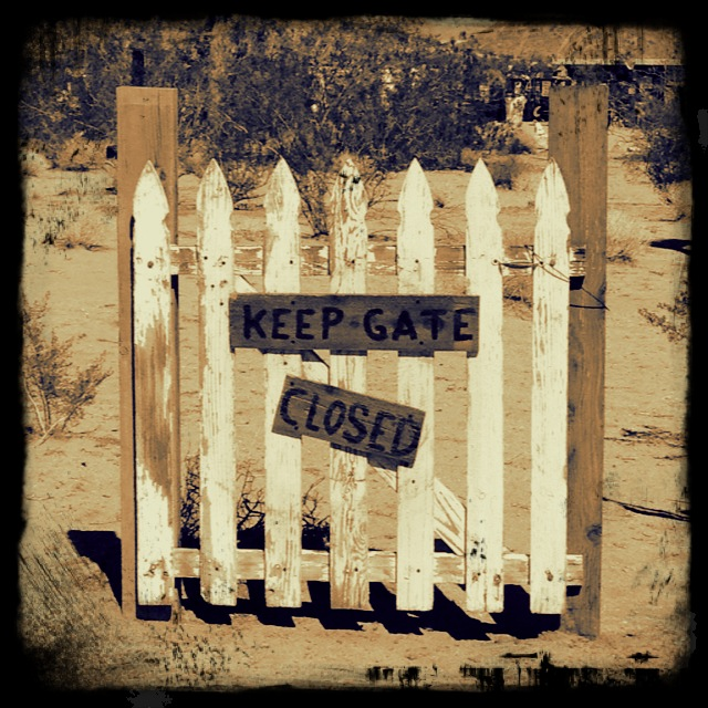 Keep Gate Closed