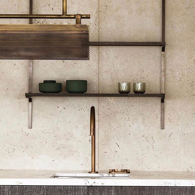 Simplicity in its best form, however, who has T W O cups and T W O bowls? What about company? We love minimalism, but we know this isn't realistic for the homes we are working in. Pretty to L O O K at though!  Pic: @obumex_interiors . . . . . #interior #interiordesign #interiorstyle #interiordecor #decor #style #homestyle #inspiration #homeinspo #interiorinspo #kitcheninspo #notreality #kitchenbeauty #sinks #minimal #minimalism #simple #simpledesign
