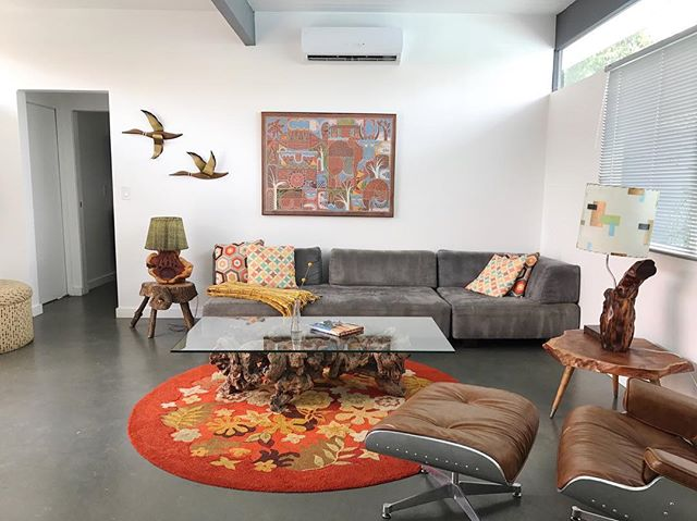 Had the pleasure of staying in this crazy/awesome Palm Springs location this past weekend. We love when an @airbnb rental still feels like a H O M E and this place really owned its mid-century, colorful decor. . . . . .  #interior #interiordesign #interiorstyle #interiordecor #decor #style #homestyle #inspiration #homeinspiration #homeinspo #interiorinspo #colorful #palmsprings #thedesert #happyplace #midcentury #awesomerental #palmspringsrental #airbnb #sofun #besttime