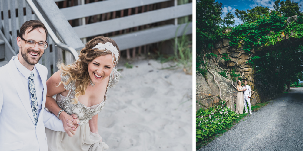 """I just want to say how much we appreciated having you at our wedding and the beautiful photos you took. They are really special to us. You made us feel so comfortable and fun, and the photos you took came out wonderful."" - Maia & Aaron"