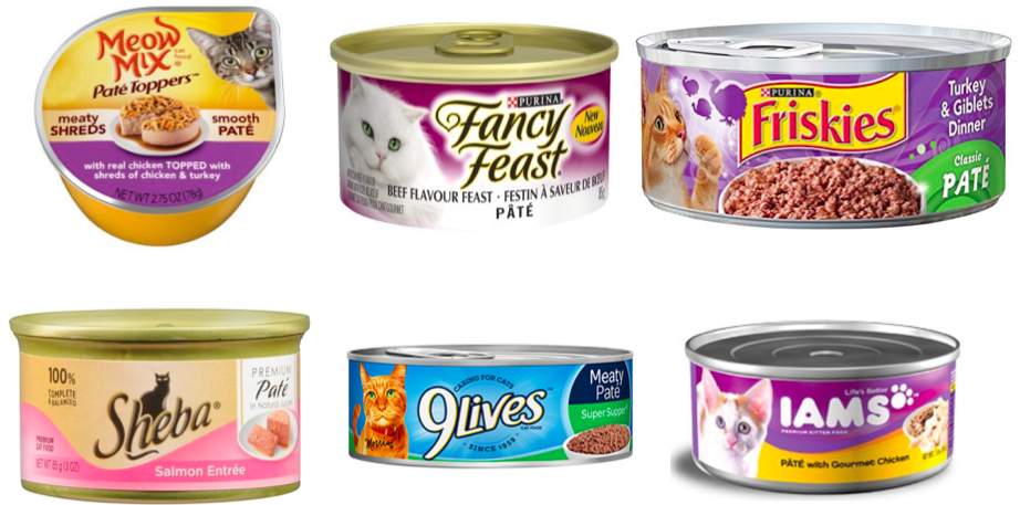 Cat food companies are further blurring the lines by marketing their own 'pâté'-- think they bothered to change what's actually inside the tin?  Me neither.