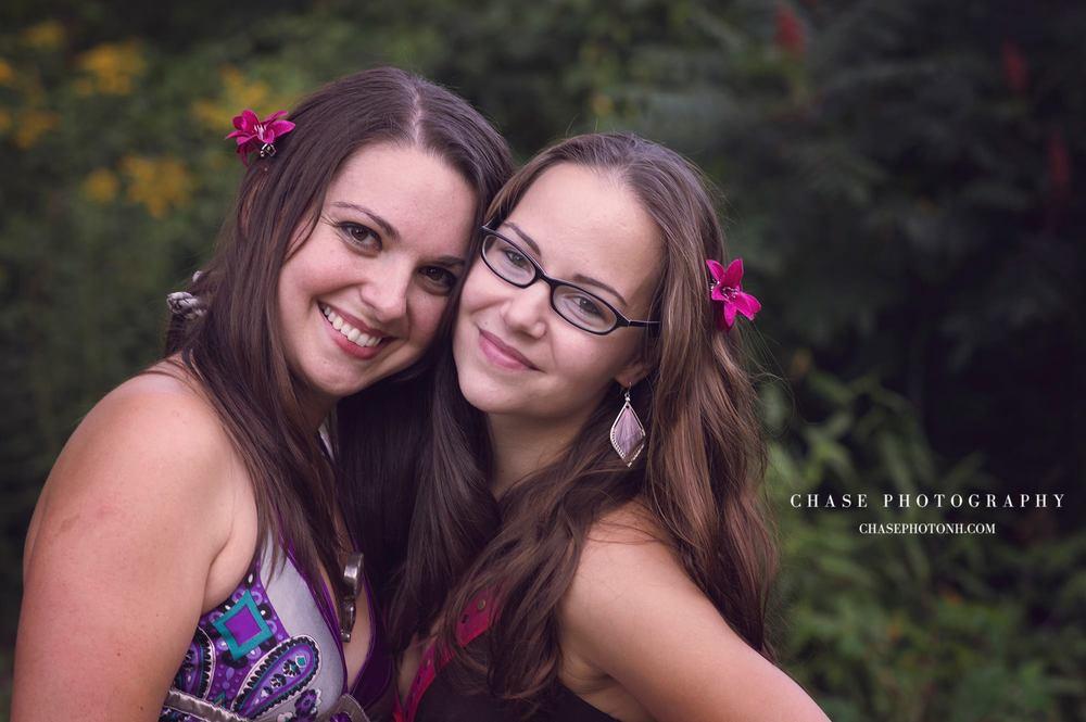 Amber and Carolyn