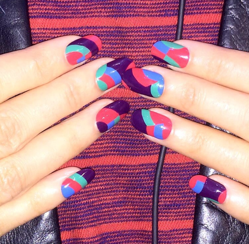 Nail art and image by Madeline Poole