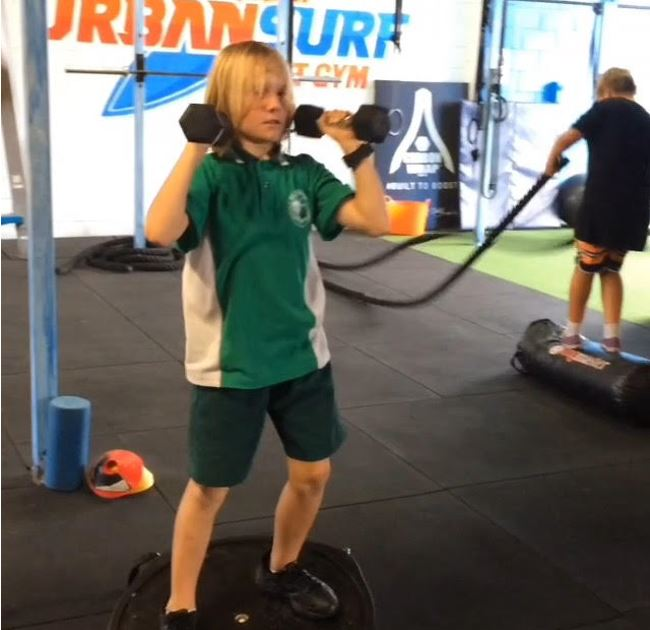Grom Fit Classes at Urban Energy Fitness Gold Coast Currumbin
