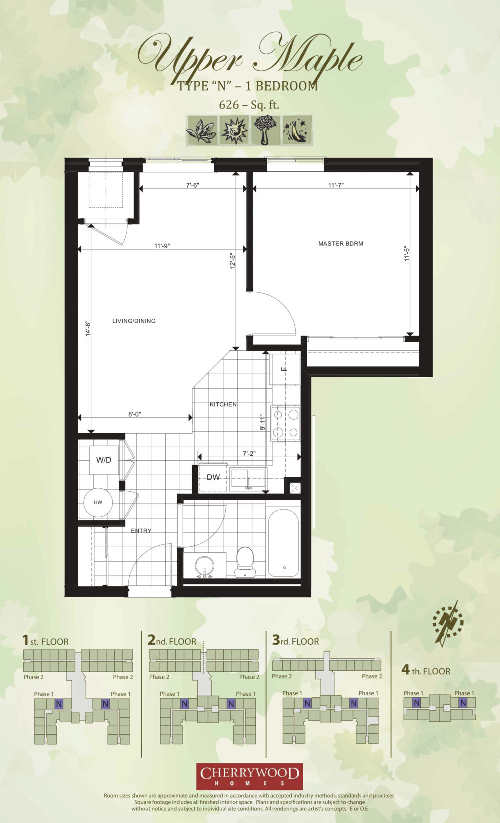 Upper Maple-From $319,000