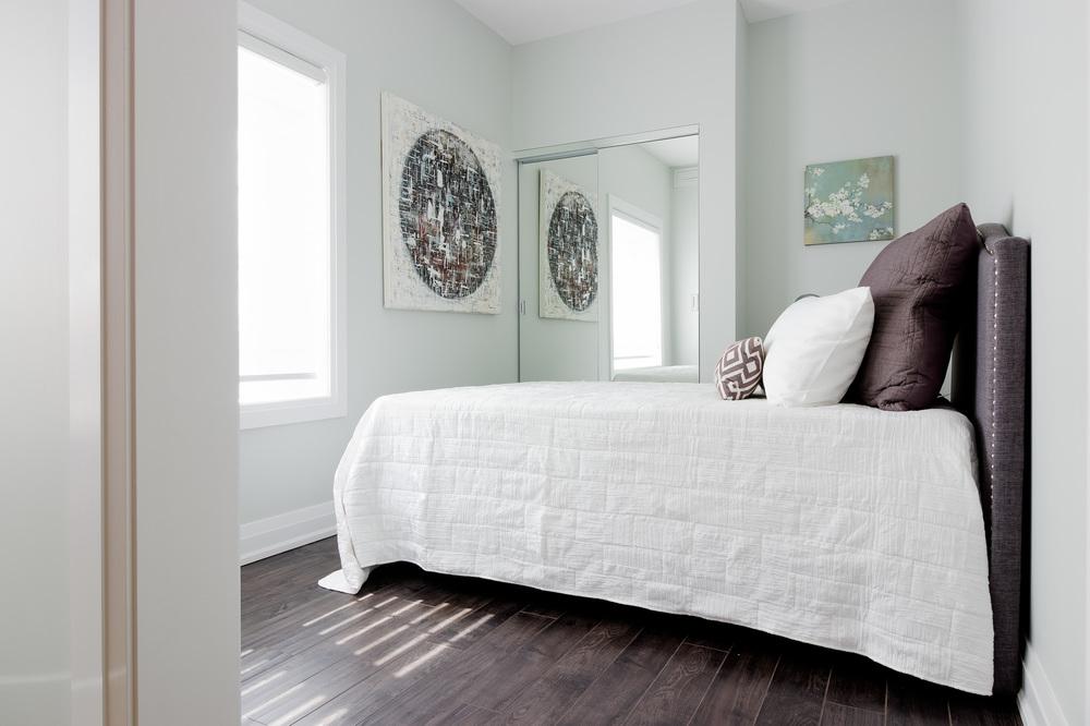 Glengrove Model Suite Bedroom