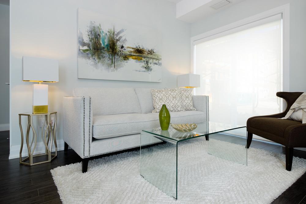Glengrove Model Suite Living Room
