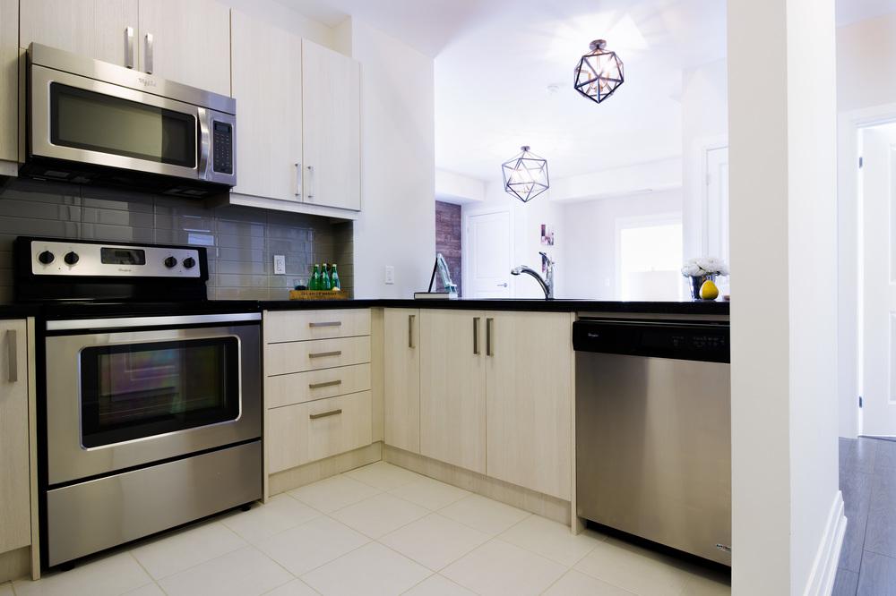 Glengrove Model Suite Kitchen