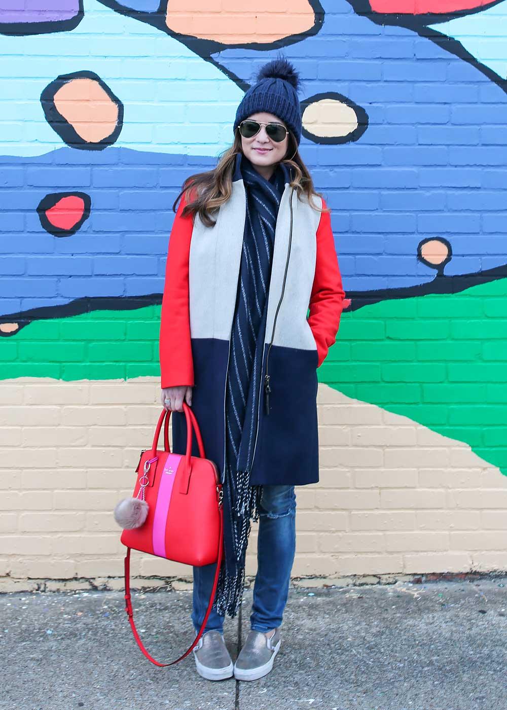 chicago based colorful fashion blogger