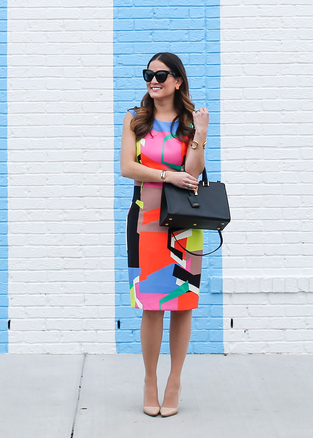 how to wear color without looking like a clown