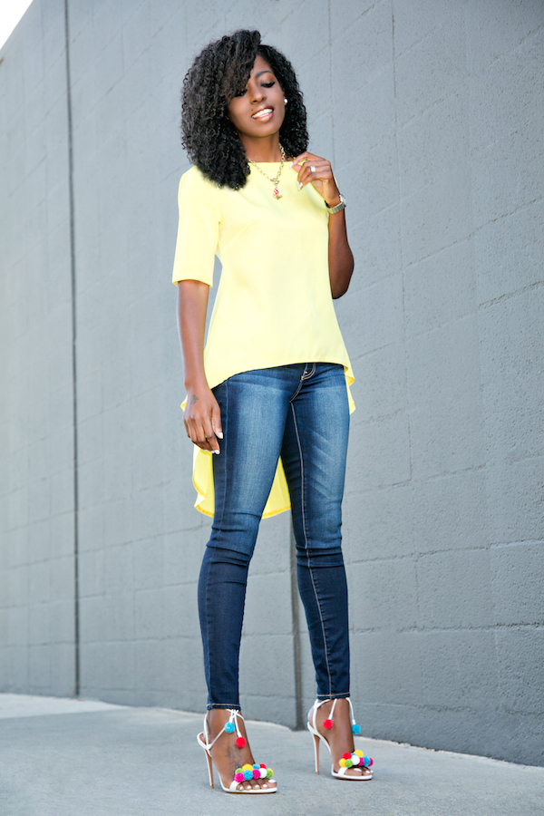 how to wear color well