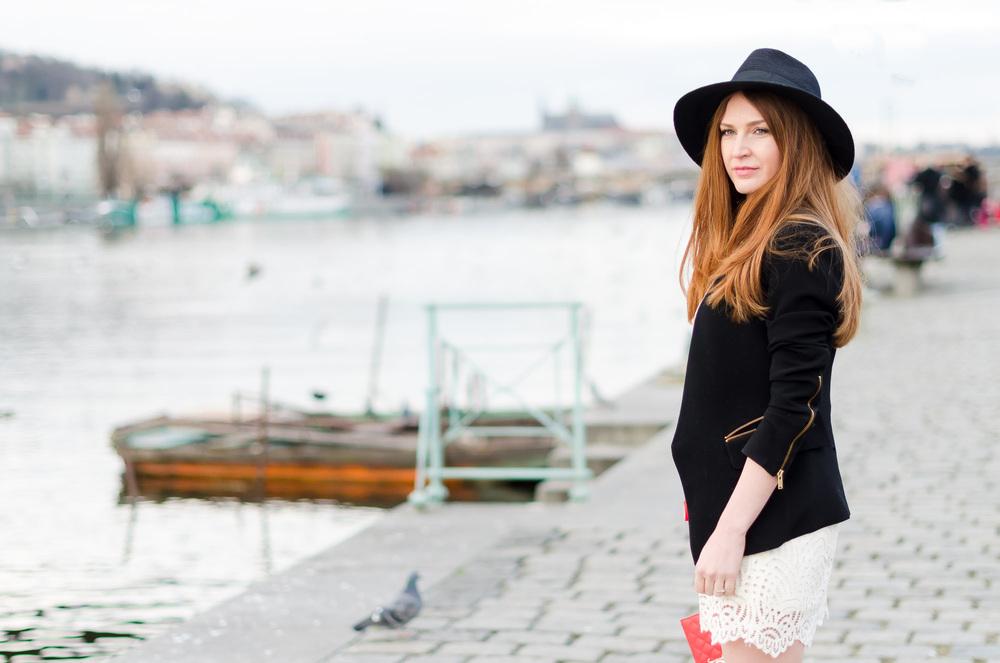 Czech style  blogger Lucy Van Dean