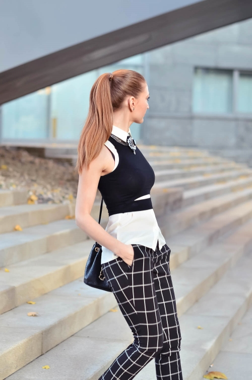 a day in the life of fashion blogger lucy van dean