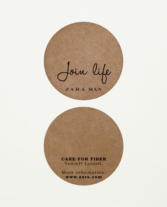 join life zara's new sustainable collection