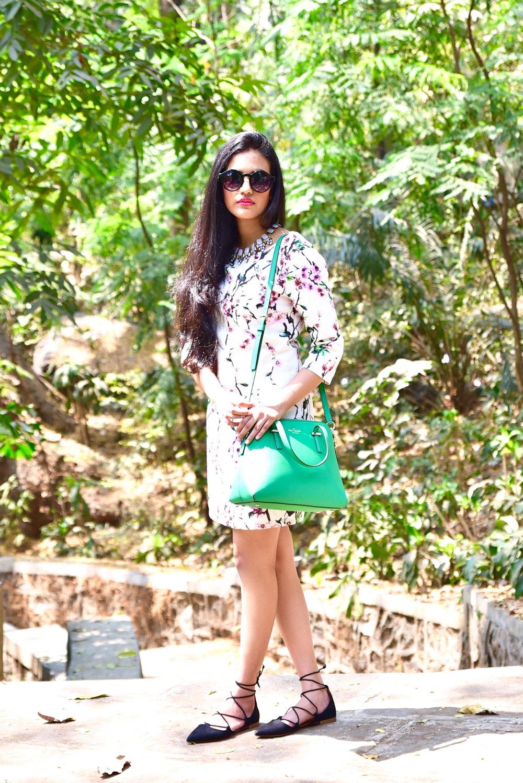 fashion blogger nitika from mumbai