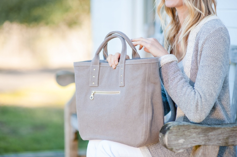 Vegan certified handbag collection