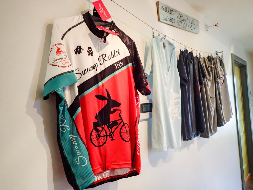 Swamp Rabbit Inn Bike Jersey by Betty Designs