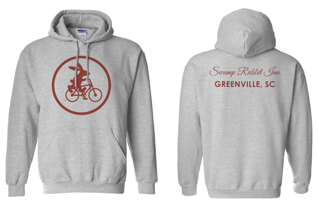 Swamp Rabbit Inn Hooded Sweatshirt - Gray.png