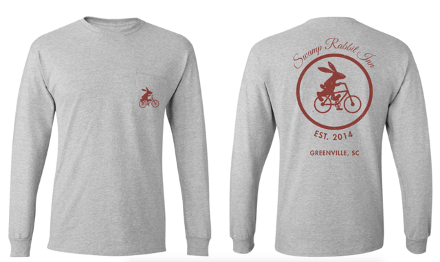 Swamp Rabbit Inn Long Sleeve T Shirt