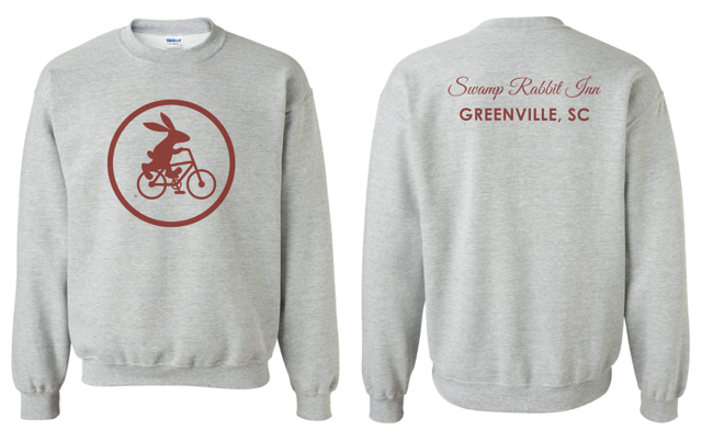 Swamp Rabbit Inn Crew Neck Sweatshirt