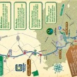 Swamp Rabbit Trail Map, Greenville, SC