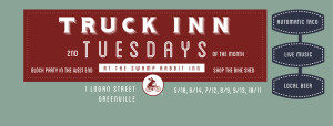 Truck Inn Tuesday at the Swamp Rabbit Inn