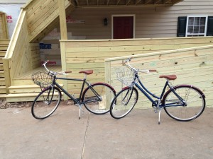 Rent a Bike at the swamp rabbit inn