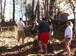 Frisbee Golf Thanksgiving