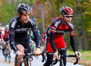 George Hincapie and Cadel Evans  are set to ride together again at the 2015 edition of Hincapie Gran Fondo.