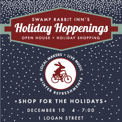 December 10th Open House with local Makers: gifts and goodies for the Holidays