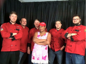AJ and Chefs