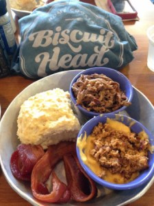 a-biscuit-with-sausage