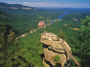 Chimney Rock State Park; North Carolina