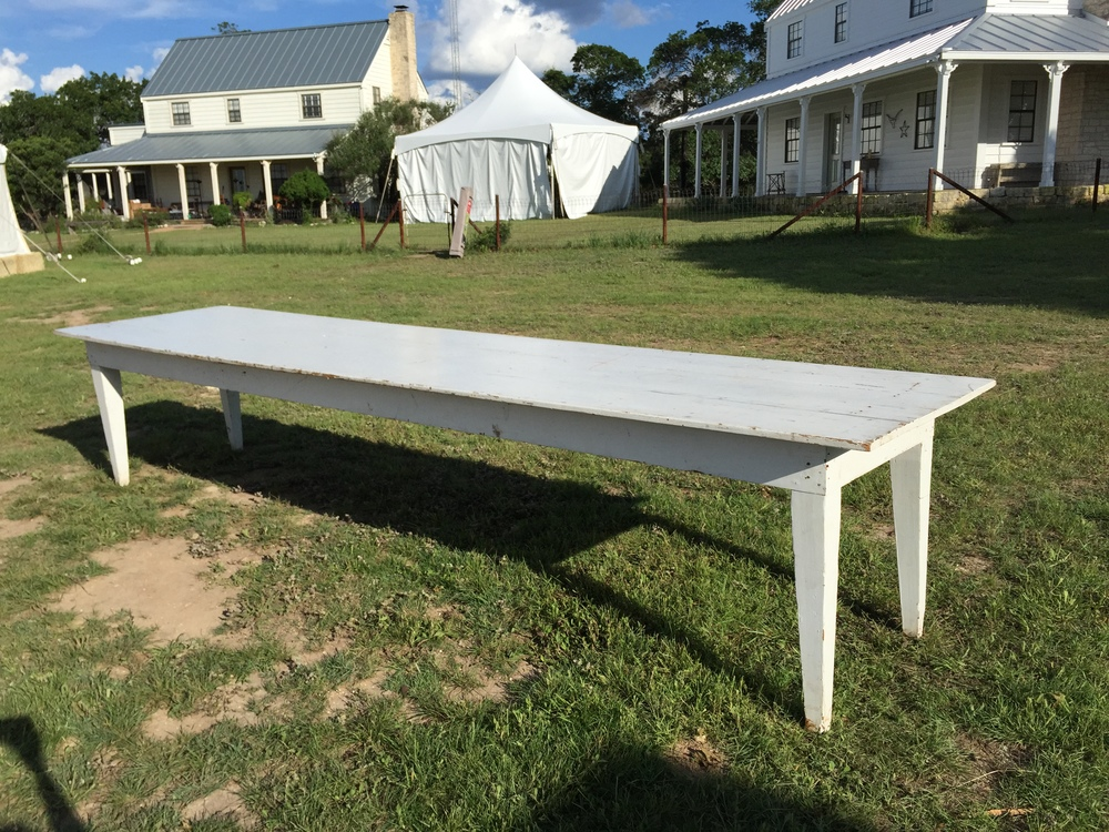 14 Ft Great White Farm Table