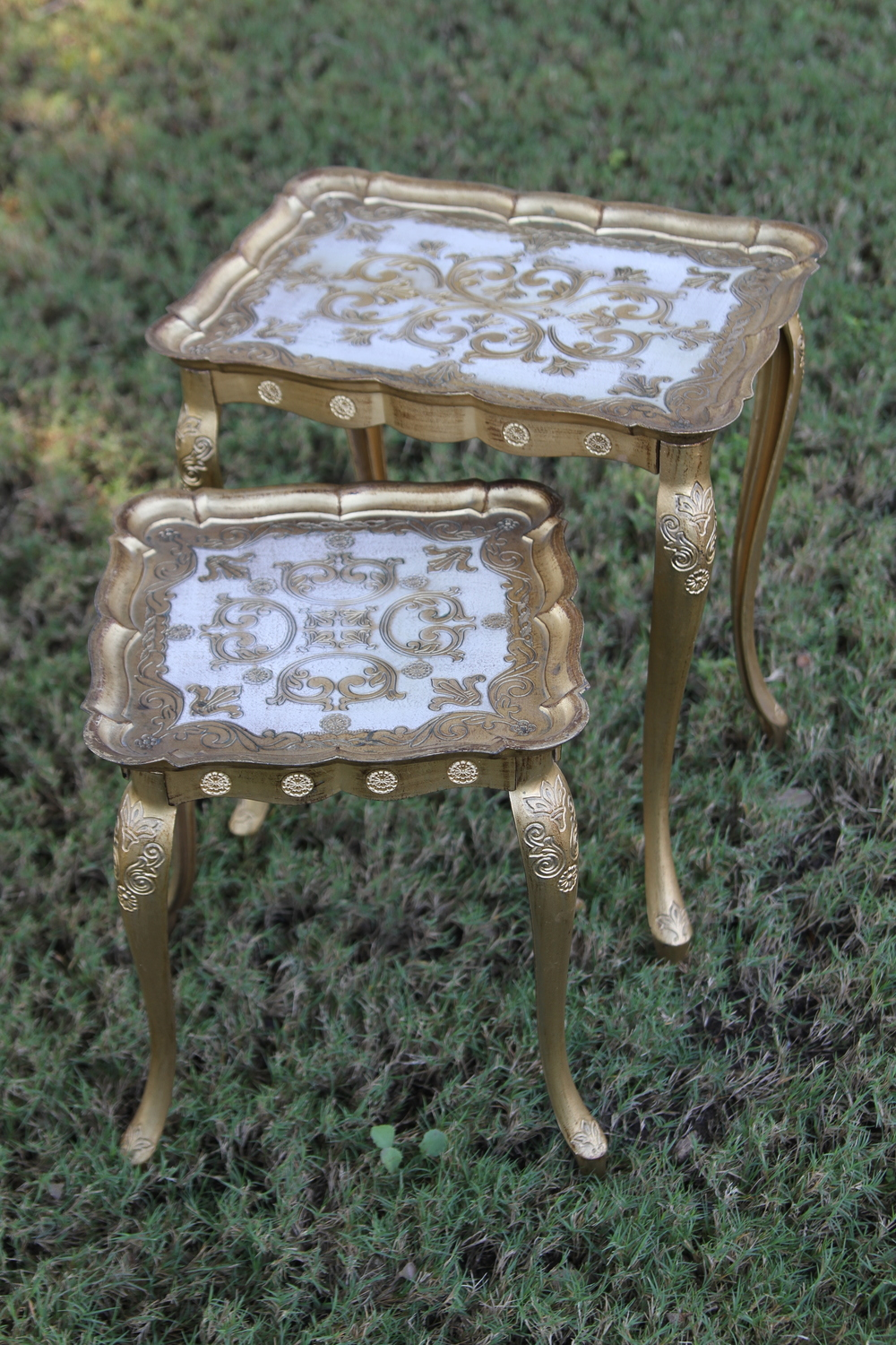 Florentine Nesting Side Tables