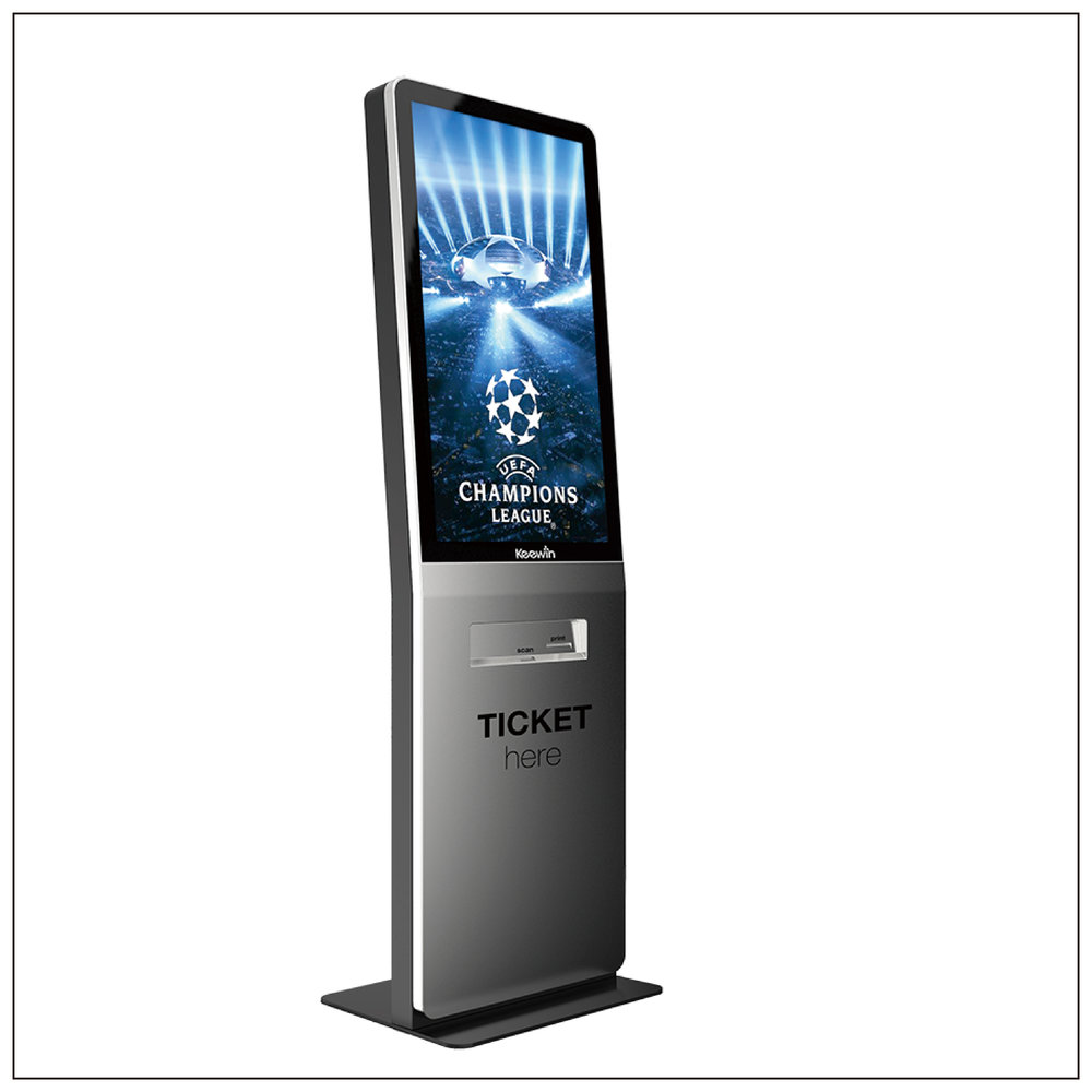 Self Ticketing Displays