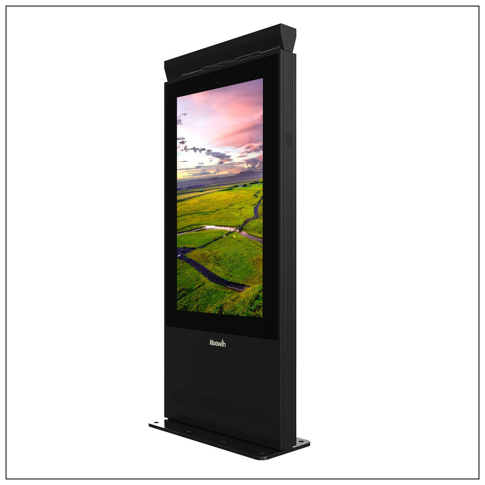 Outdoor High Brightness Double-Sided Displays