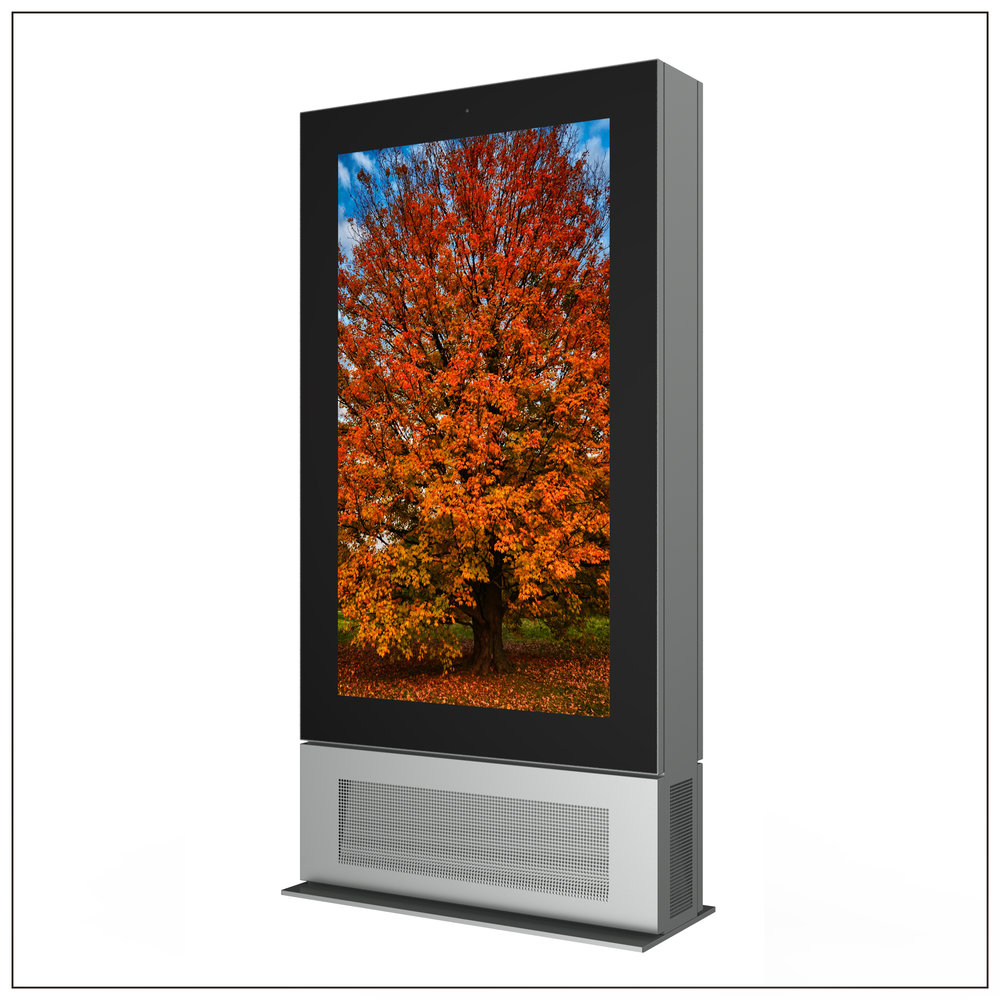 65 inch Liquid Cooled High Brightness LCD Displays
