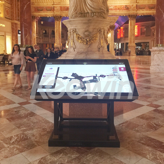 65 inch Indoor LCD Display-10 Points Nano Touch   Caesars Palace