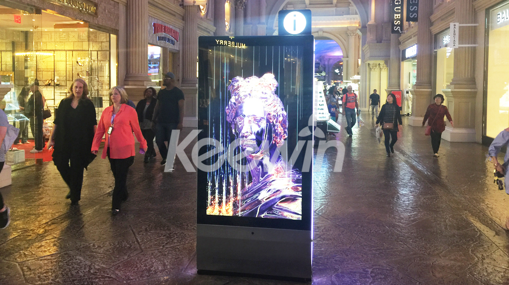 65 inch 2-sided Indoor LCD Display-10 Points Nano Touch   Caesars Palace
